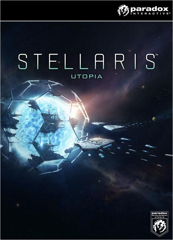 Stellaris. Utopia. Дополнение [PC, Цифровая версия] (Цифровая версия)Stellaris. Utopia является первым крупным дополнением Stellaris, хорошо принятой глобальной космической стратегии от Paradox Development Studio. Как и предполагает название, «Утопия» предоставляет вам новые инструменты для развития своей галактической империи и обеспечения процветания своих людей (или птицеящеров или говорящих грибов).<br>