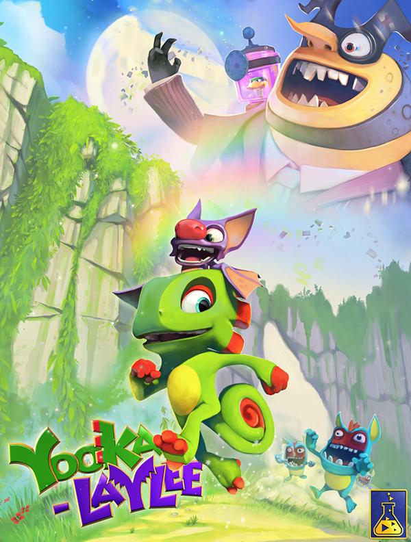 Yooka-Laylee  (Цифровая версия)Yooka-Laylee – новый платформер от студии Playtonic! Двух приятелей по имени Yooka (это тот, что зеленый) и Laylee (носатая летучая мышь с саркастическим нравом) ждут огромные прекрасные миры, встречи (и драки) с незабываемыми персонажами и схватка со зловещей корпорацией Capital B, задумавшей собрать все книги на свете и... превратить их в чистый доход!<br>