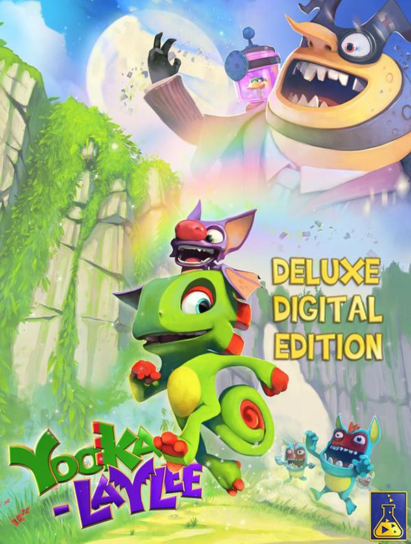 Yooka-Laylee. Digital Deluxe  [PC, Цифровая версия] (Цифровая версия) цена и фото