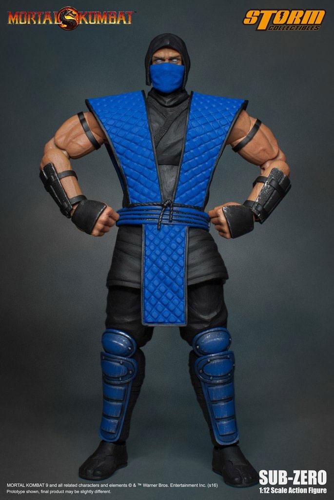 Коллекционная фигурка Mortal Kombat: Sub-Zero (17 см)Storm Collectibles в пику последнему дизайну легендарных персонажей последней части культового файтинга «Mortal Kombat» представляет коллекционную фигурку Саб-Зиро в его классическом стиле!<br>