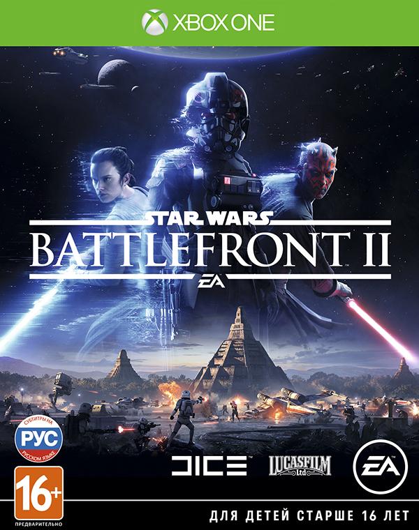 Star Wars: Battlefront II [Xbox One]Закажите игру Star Wars: Battlefront II до 17:00 часов 15 ноября и получите эксклюзивные облики Рей и Кайло Рена из фильма «Звездные Войны: Последние джедаи», а также эпические модификаторы способностей.<br>