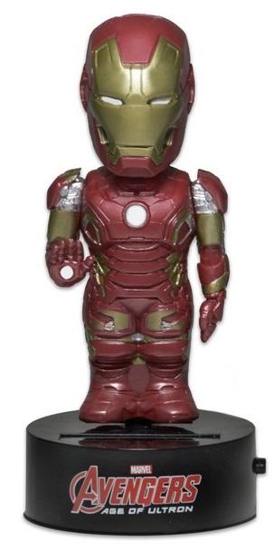 Фигурка Avengers Age of Ultron: Body Knockers – Iron Man на солнечной батарее (15 см)Фигурка Iron Man на солнечной батарее воплощает собой главного персонажа фильмов «Мстители» и «Мстители: Эра Альтрона».<br>
