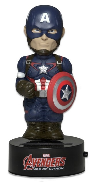 Фигурка Avengers Age of Ultron: Body Knockers – Captain America на солнечной батарее (15 см) шагомер на солнечной батарее