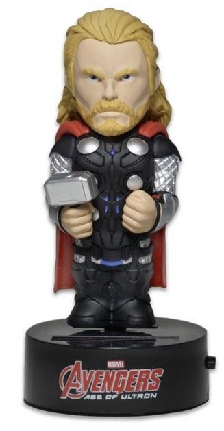 Фигурка Avengers Age of Ultron: Body Knockers – Thor на солнечной батарее (15 см)Фигурка Thor на солнечной батарее воплощает собой главного персонажа фильмов «Мстители» и «Мстители: Эра Альтрона».<br>