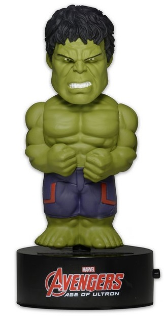 Фигурка Avengers Age of Ultron: Body Knockers – Hulk на солнечной батарее (15 см)Фигурка Hulk на солнечной батарее воплощает собой главного персонажа фильмов «Мстители» и «Мстители: Эра Альтрона».<br>