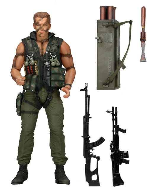 Коллекционная фигурка Commando: John Matrix (17 см)Commando: John Matrix – коллекционная фигурка Джона Мэтрикса из культового фильма «Коммандо» с Арнольдом Шварценеггером в главной роли.<br>