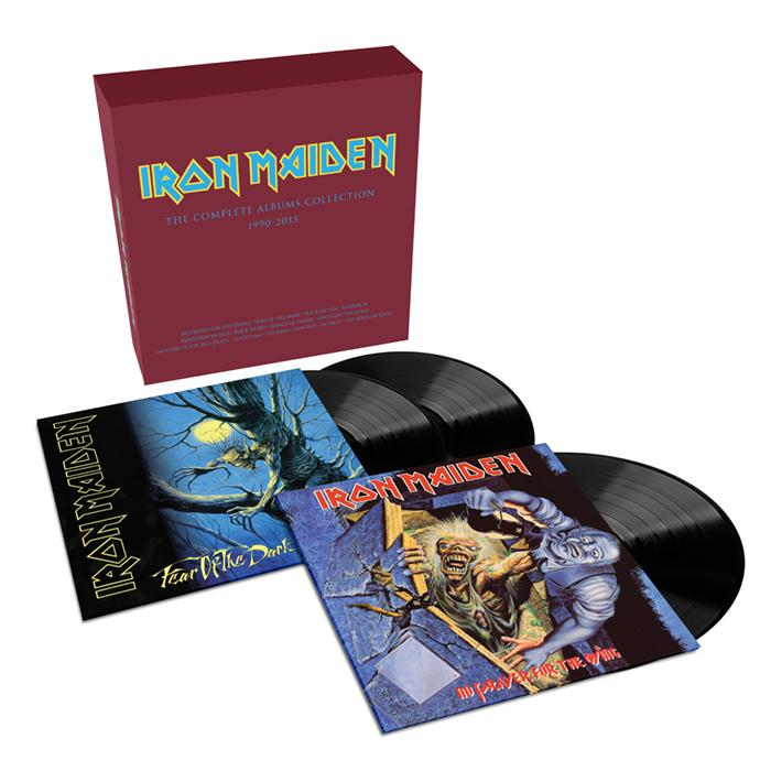 Iron Maiden – 2017 Collectors Box: Containing Fear Of The Dark & No Prayer For The Dying (3 LP) iron maiden – the book of souls live chapter 3 lp
