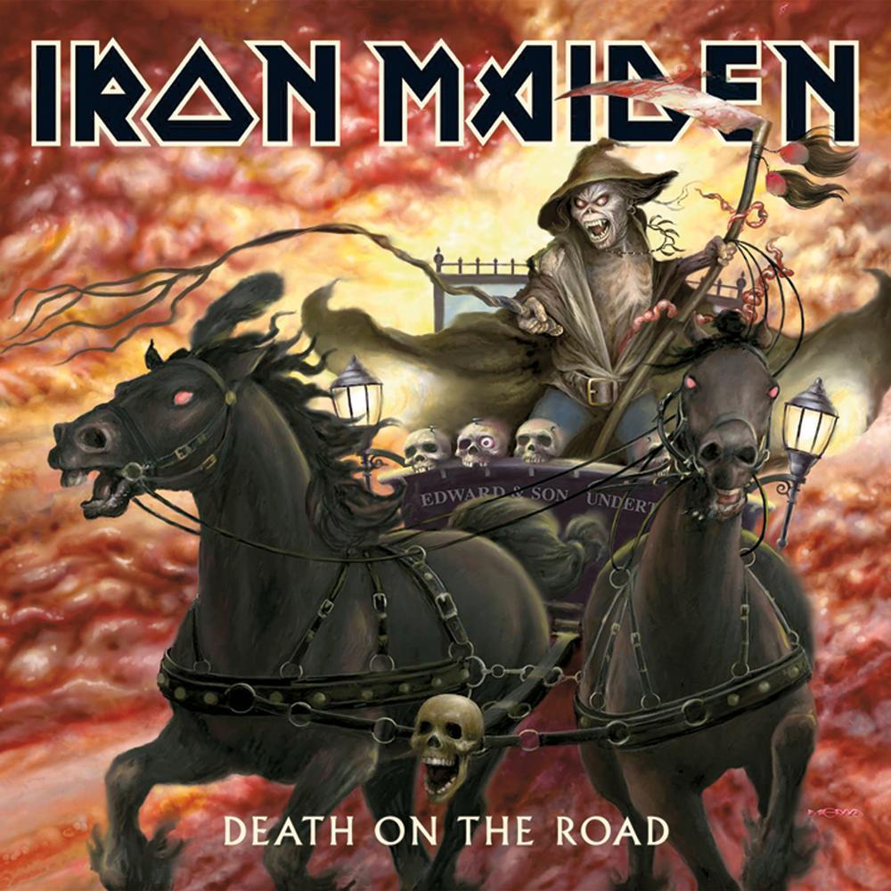 Iron Maiden – Death On the Road (2 LP)Death On the Road – седьмой концертный альбом гигантов британского хеви метала. На релизе собраны живые записи лучших песен коллектива во время тура 2005 года.<br>