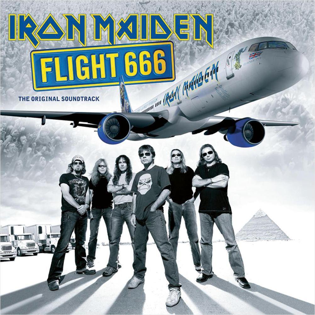 Iron Maiden – Flight 666 (2 LP) iron maiden the book of souls 3 lp