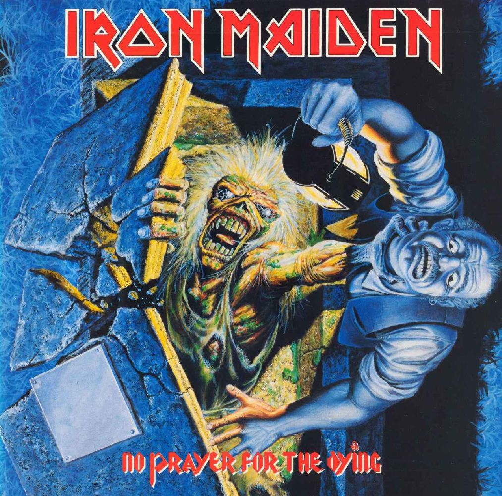 Iron Maiden – No Prayer For The Dying (LP) iron maiden the book of souls 3 lp