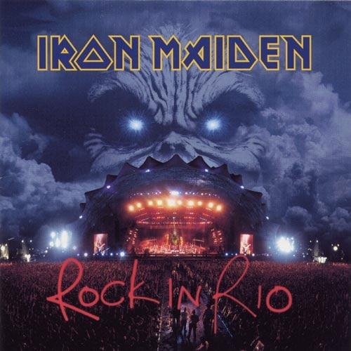 Iron Maiden – Rock in Rio (3 LP)Rock in Rio (live) – это запись живого выступления Iron Maiden перед 250 000 фанатов во время фестиваля Rock in Rio-3. Считается лучшим Live-выступлением коллектива.<br>