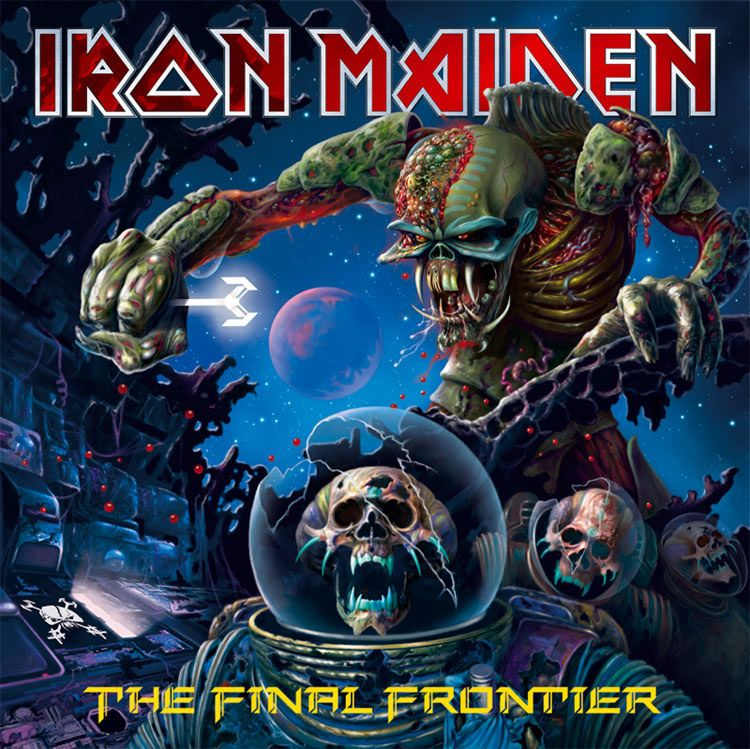 Iron Maiden – The Final Frontier (2 LP) iron maiden – the book of souls live chapter 3 lp