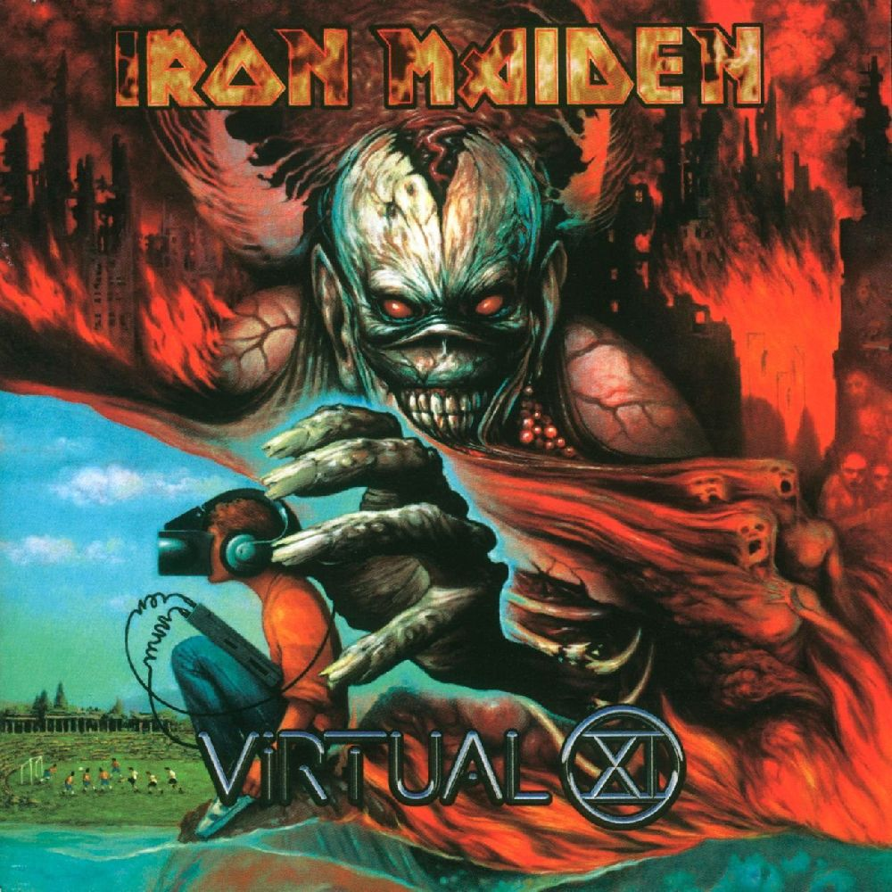 Iron Maiden – Virtual XI (2 LP) iron maiden – the book of souls live chapter 3 lp