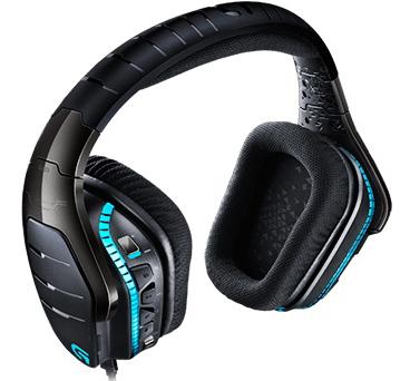 Проводная игровая гарнитура Logitech Headset G633 Artemis Spectrum с подсветкой для PC / Mac / PS4 / Xbox OneИгровые наушники Logitech Headset G633 Artemis Spectrum для настоящих меломанов, обеспечивающие высококачественное объемное звучание и оснащенные технологиями Dolby 7.1 и DTS Headphone:X для ПК, консолей, мобильных устройств и домашних кинотеатров.<br>
