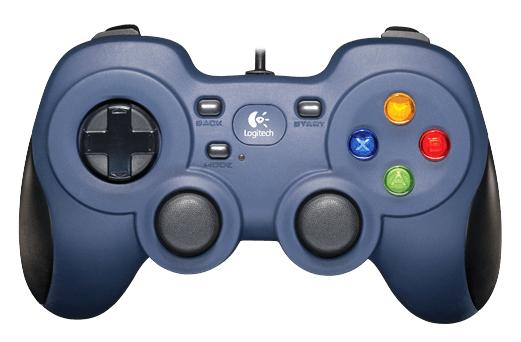 Геймпад Logitech F310 проводной для PCПривычное расположение кнопок на геймпаде Gamepad F310 позволяет играть в компьютерные игры, как на консоли.<br>