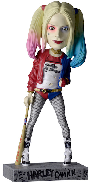 Фигурка-башкотряс Suicide Squad: Harley Quinn Head Knocker (20 см)Фигурка-башкотряс Harley Quinn DC-вселенной в экранизации «Отряда самоубийц» выполнена из солидного веса искусственной смолы и имеет ручную покраску каждого экземпляра.<br>