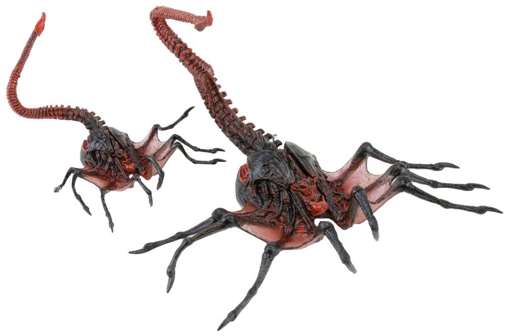 Фигурка Aliens: Series 10 – Alien Queen Facehugger (17 см)Фигурка Alien Queen Facehugger создана по мотивам фильма «Хищник» и воплощает собой королевского лицехвата – вторую стадию развития Ксеноморфа, предназначенную для резкого перемещения, захвата будущего носителя  введения его в кому и внедрения эмбриона.<br>