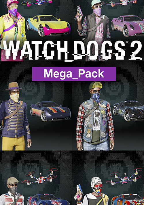 Watch Dogs 2. Mega Pack [PC, Цифровая версия] (Цифровая версия) watch dogs 2 mega pack цифровая версия