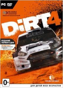 DiRT 4. Издание первого дня [PC]DiRT 4 – четвертая часть серии аркадных гонок. Игра бросает серьезный вызов даже опытным виртуальным гонщикам. Новая Академия DiRT 4 научит навыкам, которые необходимы для достижения вершин в автоспорте, и станет собственной игровой площадкой для оффроуда.<br>