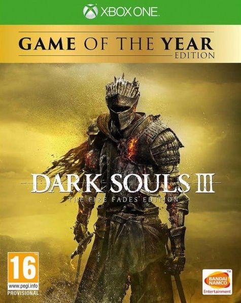 Dark Souls III – The Fire Fades Edition [Xbox One] riggs r library of souls
