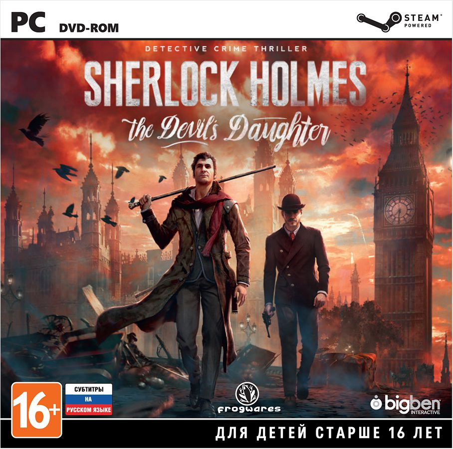 Sherlock Holmes: The Devil's Daughter [PC–Jewel] virgin s daughter the