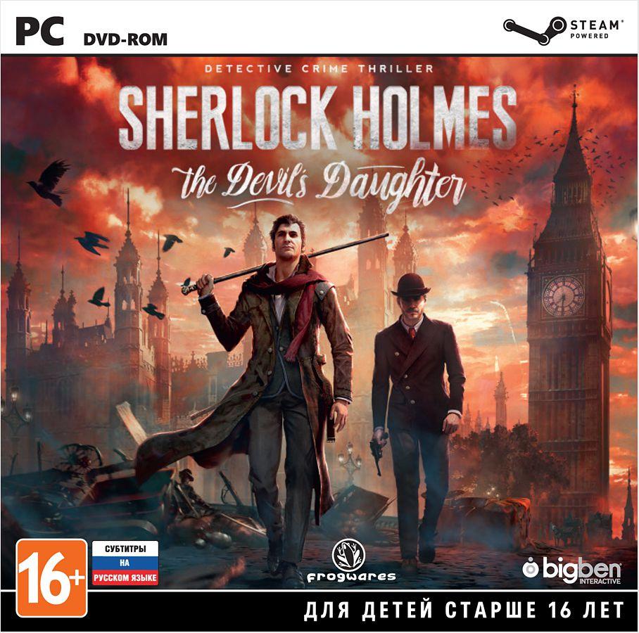 Sherlock Holmes: The Devils Daughter [PC–Jewel]Станьте самым знаменитым детективом всех времён – Шерлоком Холмсом! Используйте свои впечатляющие детективные способности для раскрытия пяти захватывающих и чрезвычайно разнообразных дел: убийства, исчезновения людей, кражи, а также расследования, которые способны привести в область невероятного.<br>