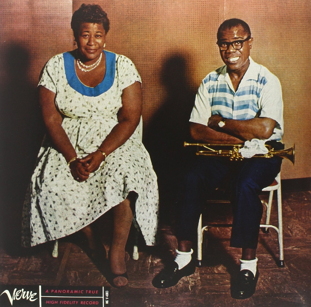 Ella Fitzgerald & Louis Armstrong – Ella And Louis (LP) louis armstrong and duke ellington the great reunion lp