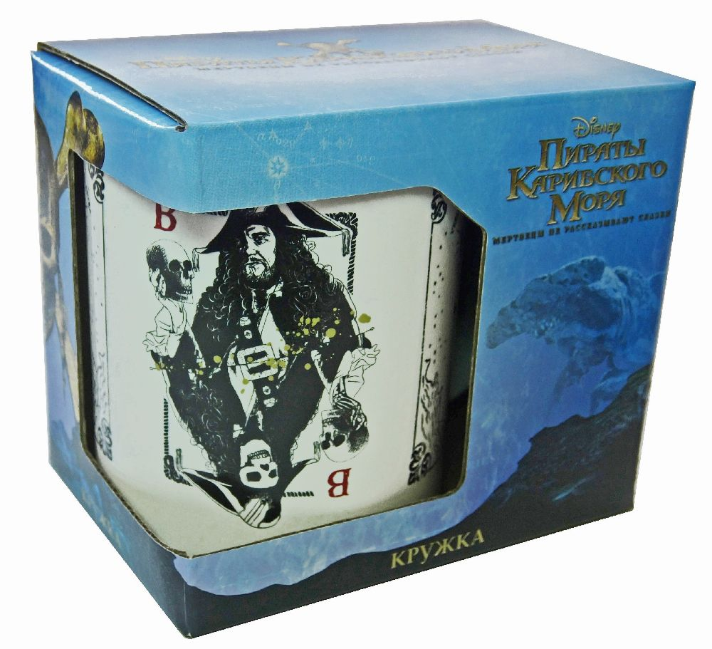 Кружка Пираты Карибского моря: Карты (350 мл)