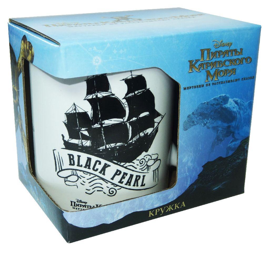 Кружка Пираты Карибского моря: Черная Жемчужина (350 мл)