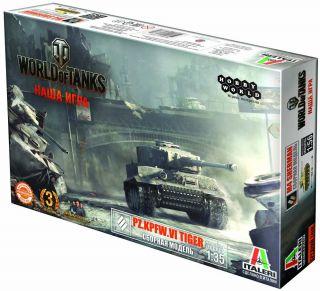 Сборная модель World of Tanks: Танк Pz.Kpfw.VI Tiger как танк в игре world of tanks не прокачивая его