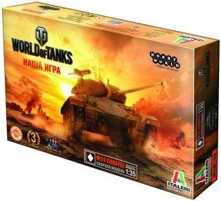 Сборная модель World of Tanks: Танк M24 Chaffee