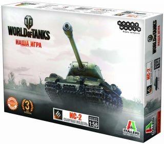 Сборная модель World of Tanks: Танк ИС-2World of Tanks: Танк ИС-2 – сборная коллекционная модель военной техники.<br>
