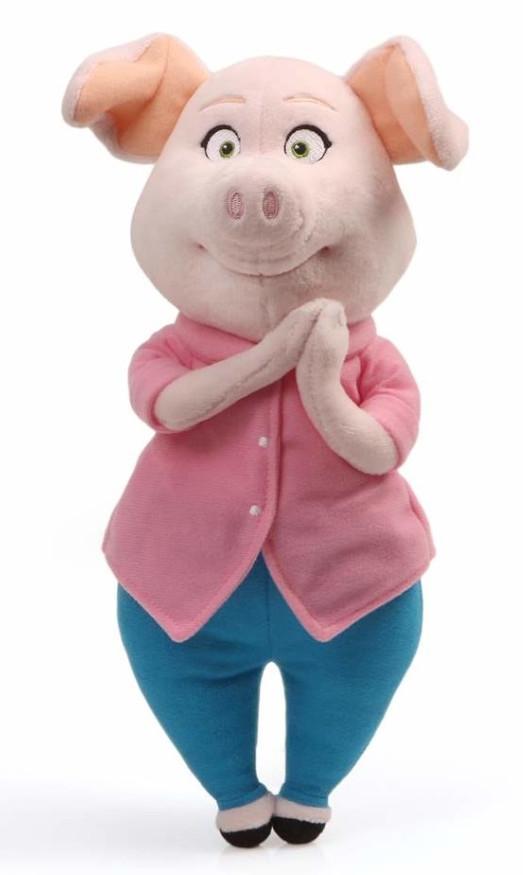 Мягкая игрушка Зверопой: Rosita (33 см)Мягкая игрушка Rosita создана по мотивам музыкального анимационного фильма «Зверопой», рассказывающего о жизни зверей – о том, как преодолеть страх и раскрыть свои таланты.<br>