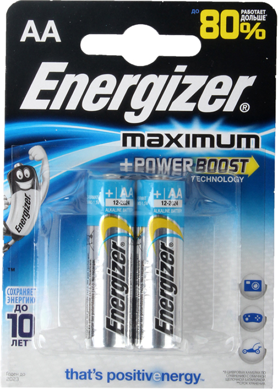 Элемент питания Energizer Maximum LR6/E91 АА FSB (2 шт.) от 1С Интерес