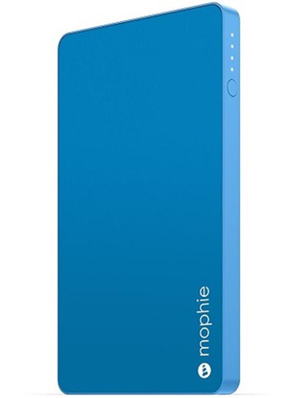Портативное зарядное устройство Mophie Powerstation Mini (синий)С новым внешним портативным аккумулятором Mophie Powerstation Mini вы сможете общаться с друзьями, играть на смартфоне и заниматься веб-серфингом дольше, чем когда-либо.Тонкий дизайн и алюминиевый корпус позволят вам брать с собой Mophie Powerstation mini куда бы вы ни направились &amp;ndash; на вечернюю прогулку или в длительную поездку.<br>
