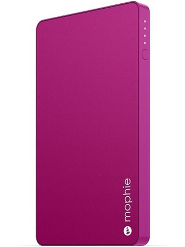 Портативное зарядное устройство Mophie Powerstation Mini (розовый)С новым внешним портативным аккумулятором Mophie Powerstation Mini вы сможете общаться с друзьями, играть на смартфоне и заниматься веб-серфингом дольше, чем когда-либо.Тонкий дизайн и алюминиевый корпус позволят вам брать с собой Mophie Powerstation mini куда бы вы ни направились &amp;ndash; на вечернюю прогулку или в длительную поездку.<br>