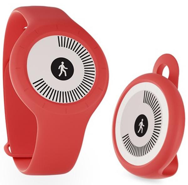 Фитнес-браслет Withings Go (красный)Фитнес трекер Withings Go отслеживает движения во время ходьбы, бега, плавания, периоды сна и бодрствования, а также считает количество сожженных калорий.<br>