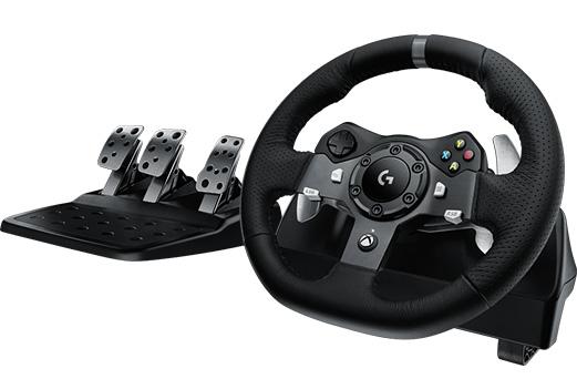 Руль Logitech G920 Driving Force для PC / XboxOne / MacРуль Logitech G920 Driving Force &amp;ndash; новый взгляд на консольные игры. Прочувствуйте каждое смещение веса, боковой увод шины, возможность настройки для максимальной управляемости и многое другое!<br>