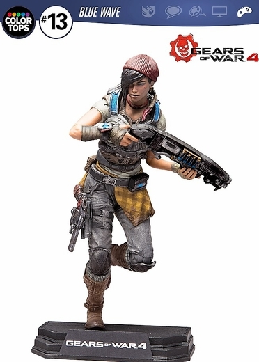 Коллекционная фигурка Gears Of War 4: Kait Diaz (17 см) фигурка gears of war 4 jd fenix 17 см