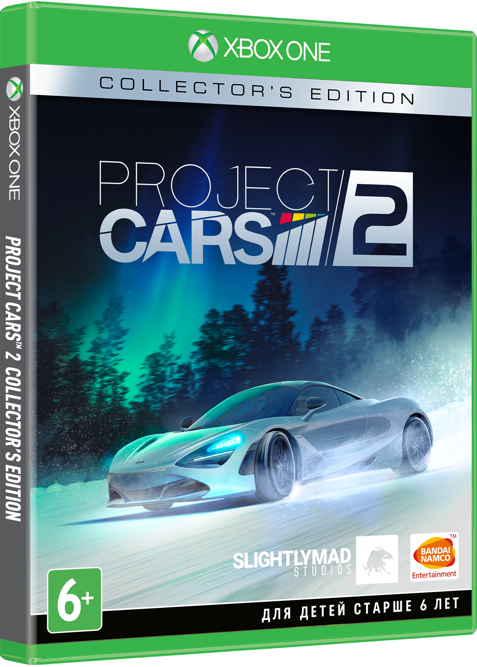 Project Cars 2. Collector's Edition [Xbox One] видеоигра для xbox one overwatch origins edition