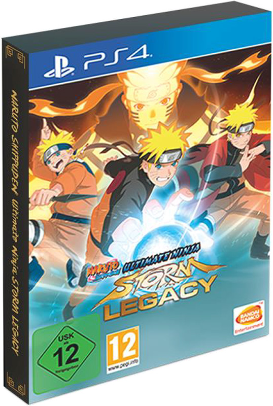 Naruto Shippuden Ultimate Ninja Storm Legacy Edition [PS4] ultimate ps 1244n silver alu