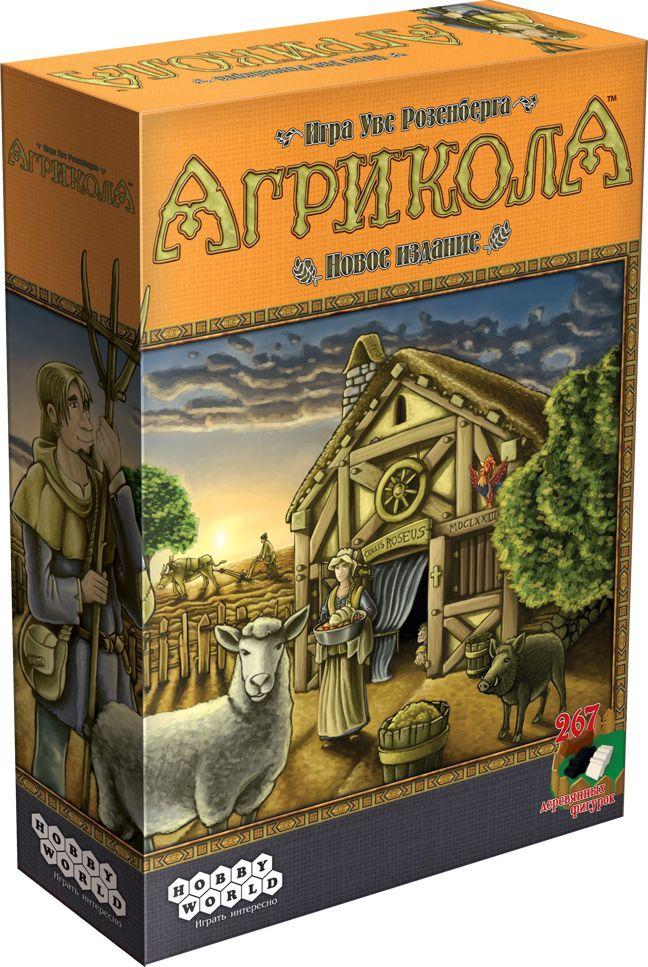 Настольная игра АгриколаАгрикола – обновлённая и улучшенная версия популярнейшей настольной стратегии в мире о жизни фермеров XVII века.<br>