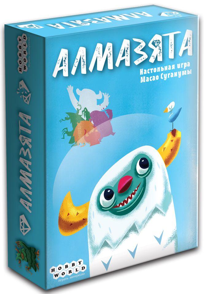 Настольная игра АлмазятаАлмазята – весёлая настольная игра о дружелюбных монстриках.<br>