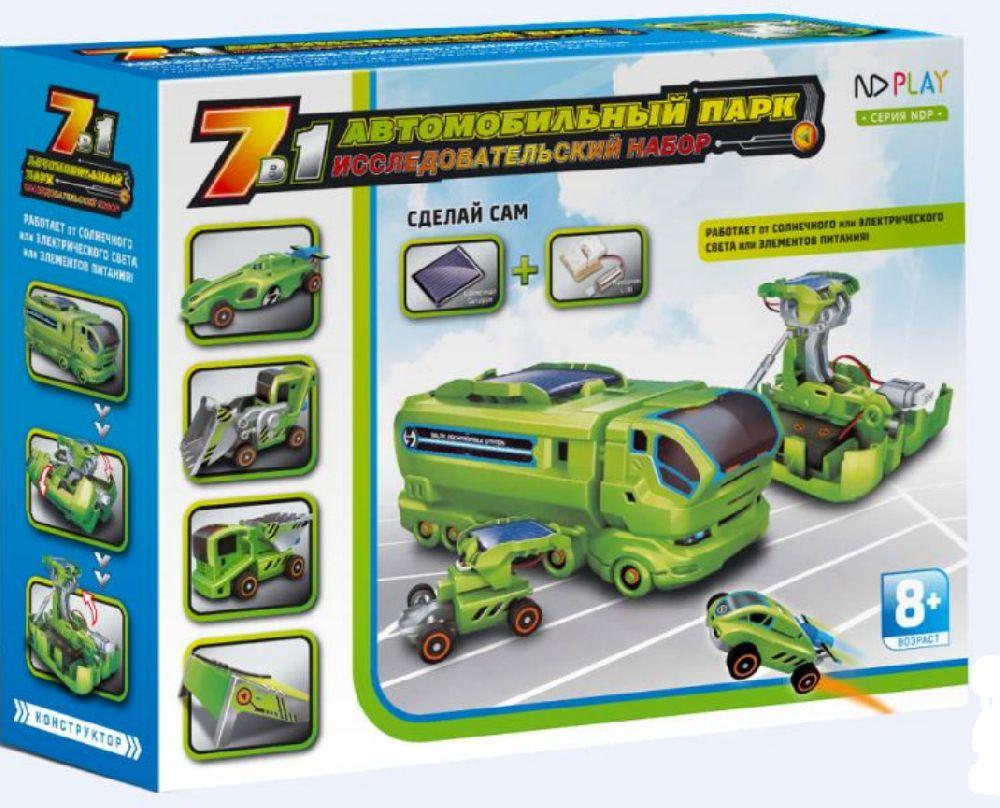 Фото - Конструктор Автомобильный парк (7 в 1) конструктор автомобильный парк 7 в 1