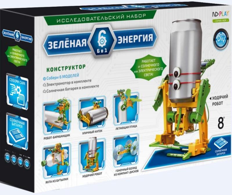 Конструктор Зеленая энергия (6 в 1) конструктор fanclastic f1018 зеленая буква