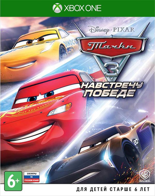 Тачки 3: Навстречу победе [Xbox One]Тачки 3: Навстречу победе – соревновательная гоночная игра высшего класса, созданная по мотивам анимационного фильма Disney/Pixar.<br>