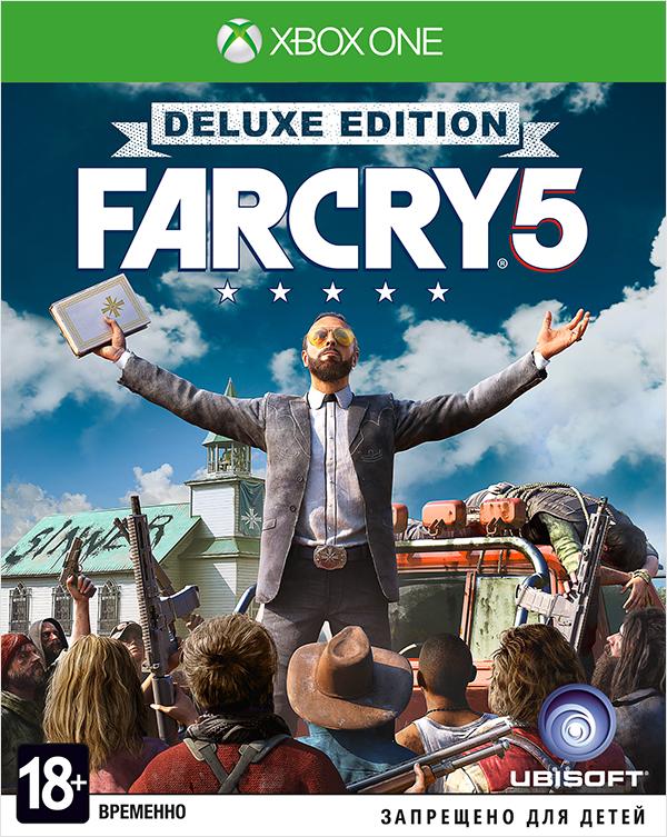 Far Cry 5. Deluxe Edition [Xbox One]Закажите игру Far Cry 5. Deluxe Edition до 17:00 часов 22 февраля 2018 года и получите в подарок набор «Выживальщик».<br>