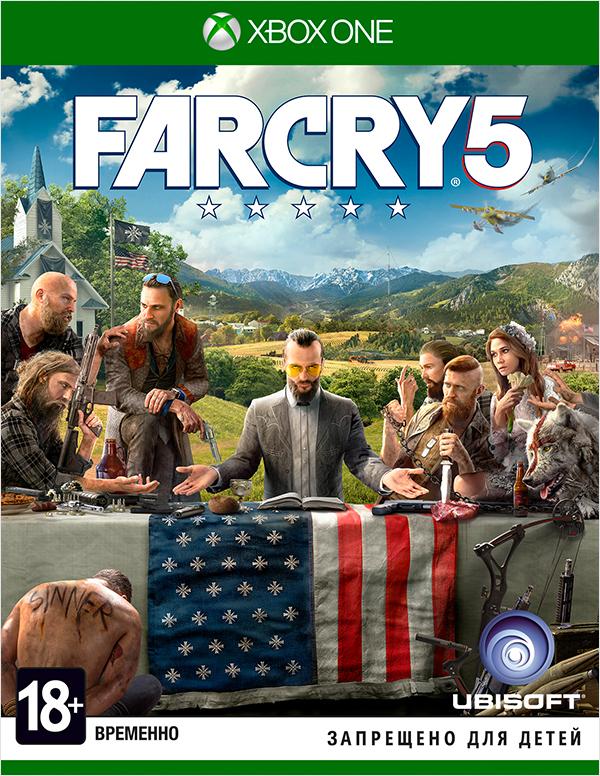 Far Cry 5 [Xbox One]Закажите игру Far Cry 5 до 17:00 часов 22 февраля 2018 года и получите в подарок наборы «Выживальщик» и «Хаос».<br>