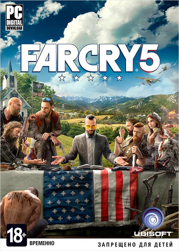 Far Cry 5 [PC, Цифровая версия] (Цифровая версия)Закажите игру Far Cry 5 до 26 марта 2018 года включительно и получите в подарок наборы «Выживальщик» и «Хаос».<br>