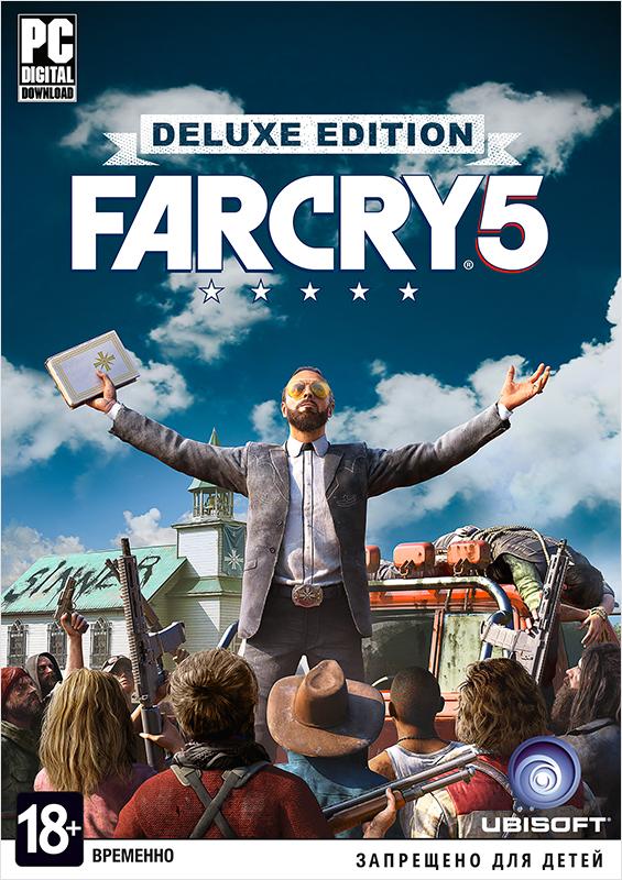 Far Cry 5. Deluxe Edition (Цифровая версия)Закажите игру Far Cry 5 до 26 февраля 2018 года включительно и получите в подарок набор «Выживальщик».<br>